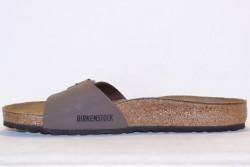 Birkenstock Mule Madrid Briko-Flor BK040091 Nubuck Mocca