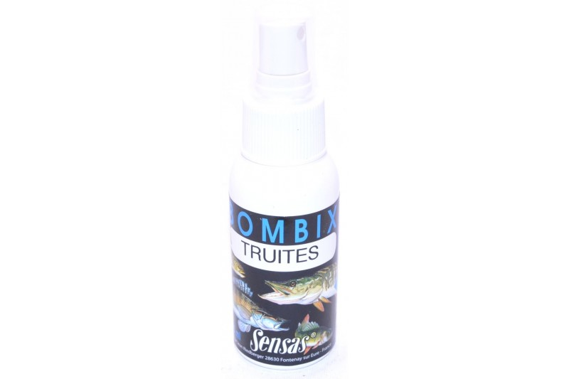 Sensas 75ml Bombix truites