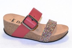 k. daques culip glitter rouge