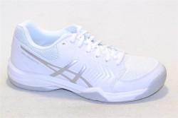 asics gel-dedicate 5 e707y 0193 white/silver