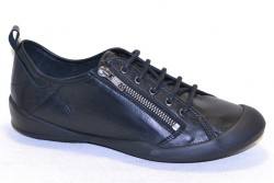 tbs vasquez f7004 tige basse lacet cuir miami noir