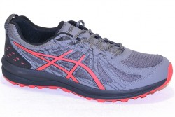 asics frequent trail 1011a034 021 carbon/red alert