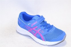 asics contend 5 ps blue coast/hot pink