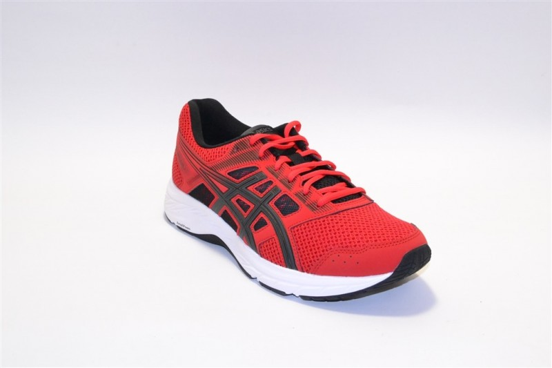 asics gel-contend 5 classic red/dark grey